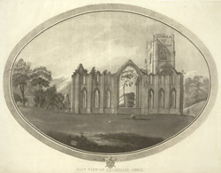 East View of Fountains Abbey